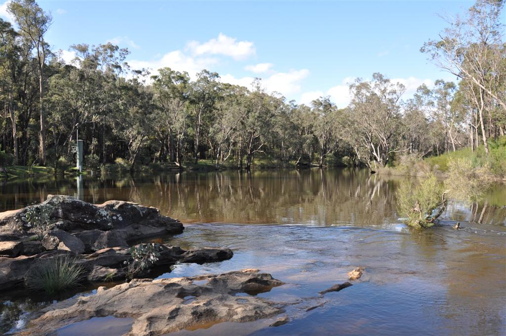 A Flat Calm Part of the Murray River