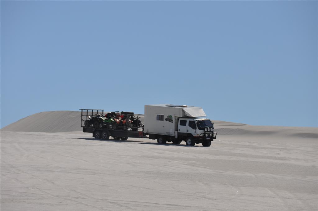 A Full on Setup in Lancelin Dunes