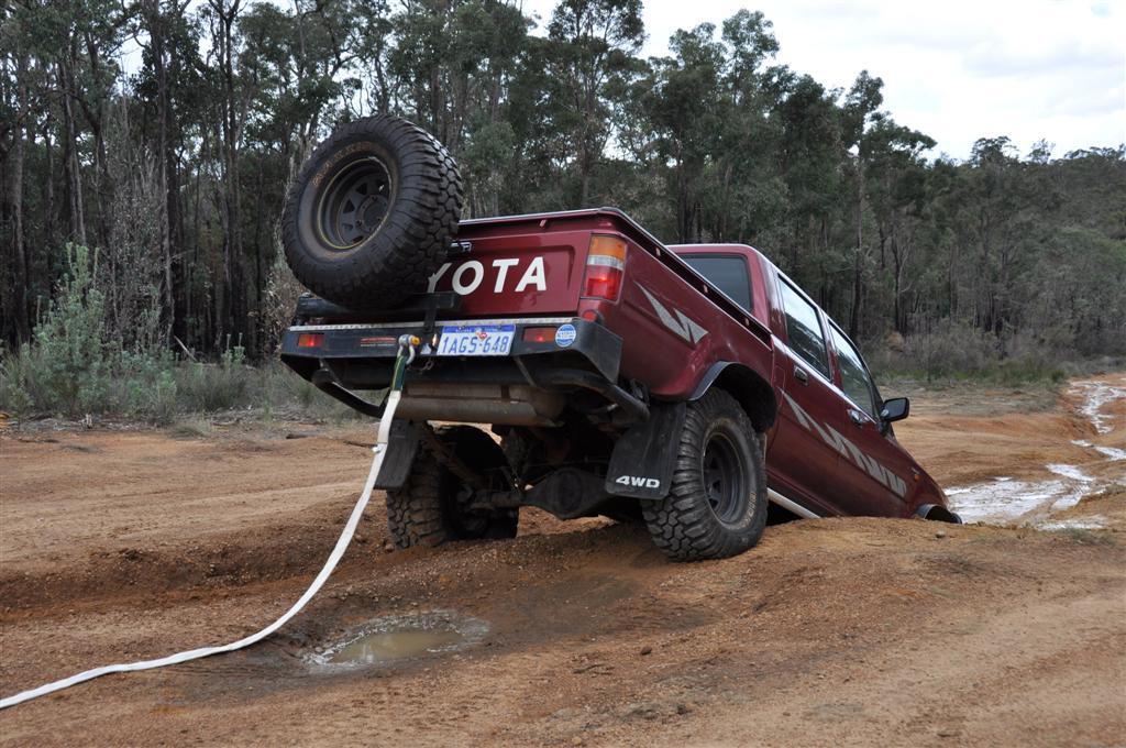 A Little Too Steep for the Hilux