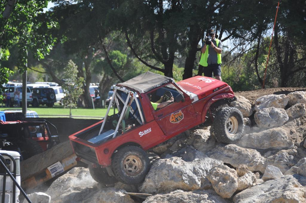 A Little Zook Demonstrating Some Rock Crawling