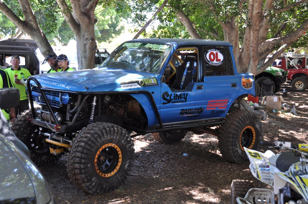 A Massively Modified 80 Series Land Cruiser