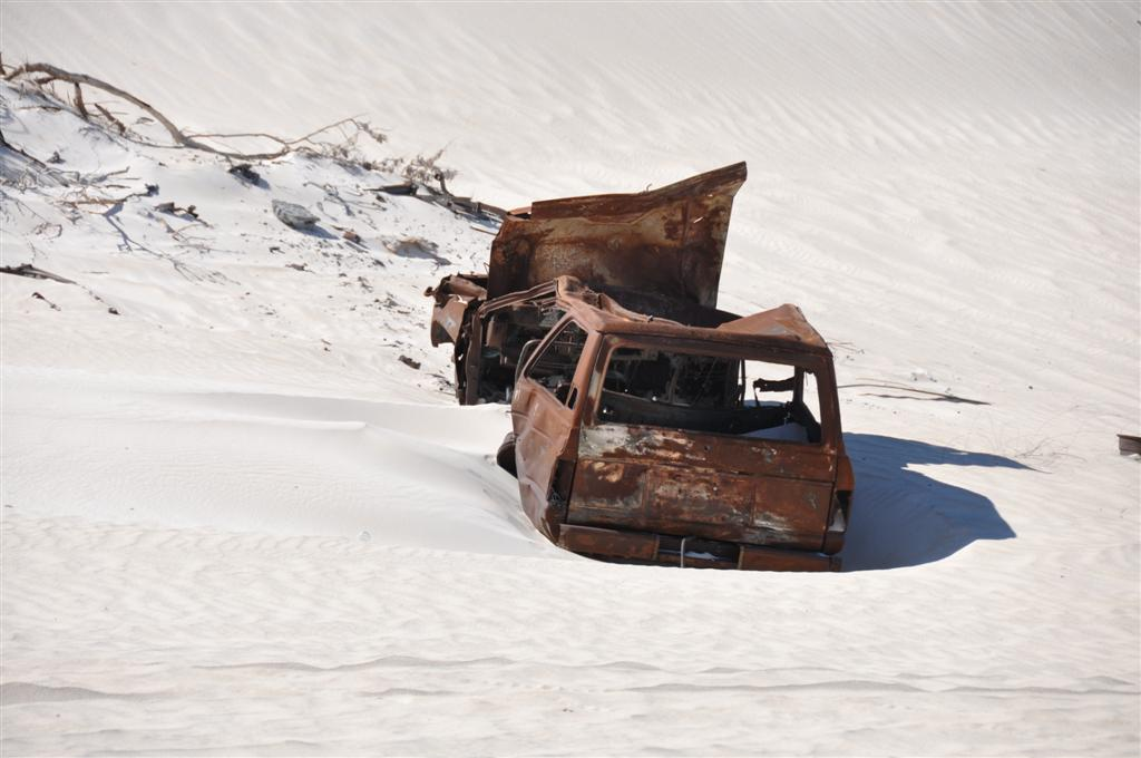 A Torched 60 Series Land Cruiser