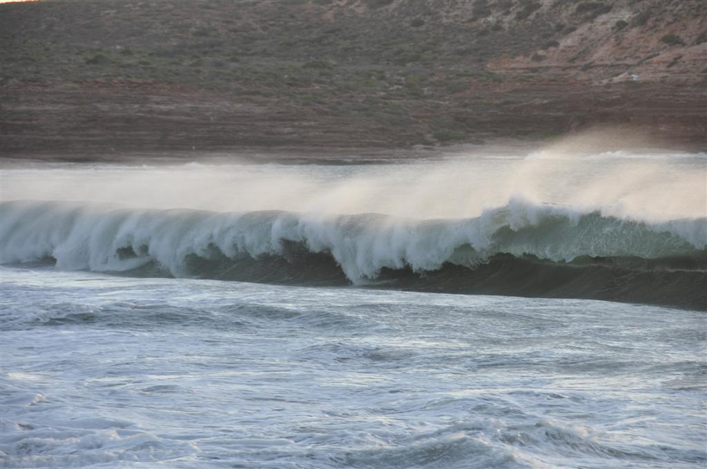 A Windy Afternoon at Kalbarri