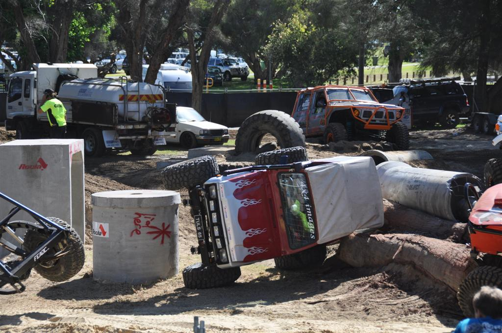 An Accident at the Perth 4wd Adventure Show