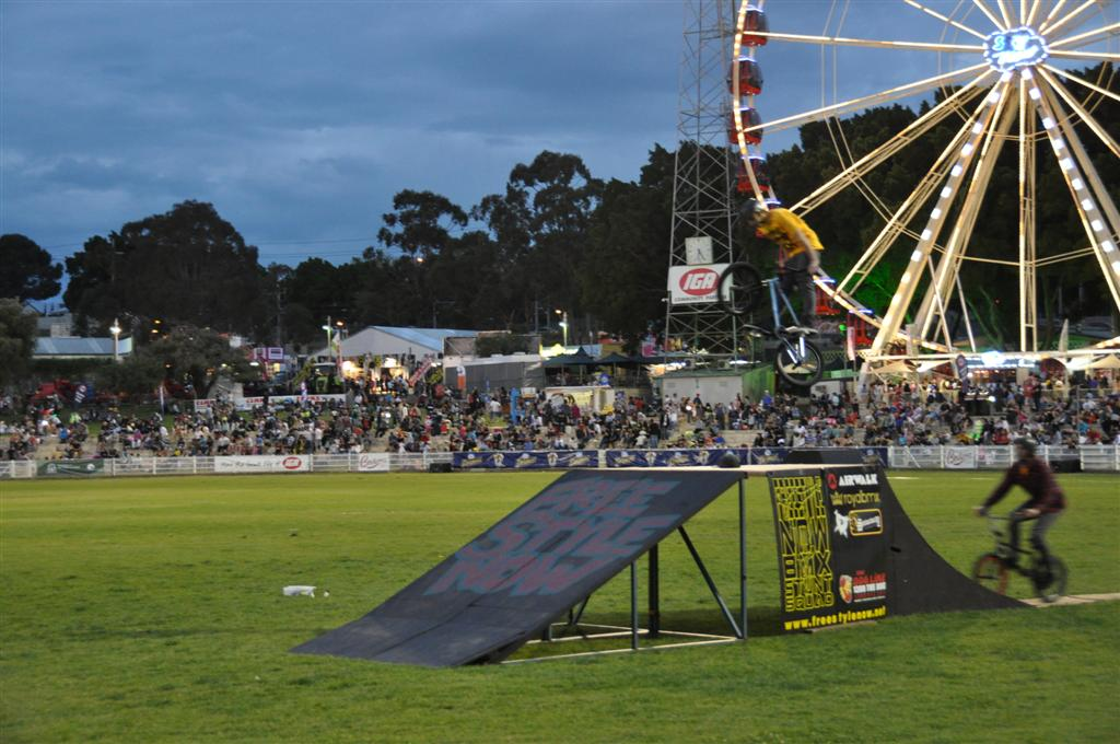 Bmx Tricks at the Royal Show