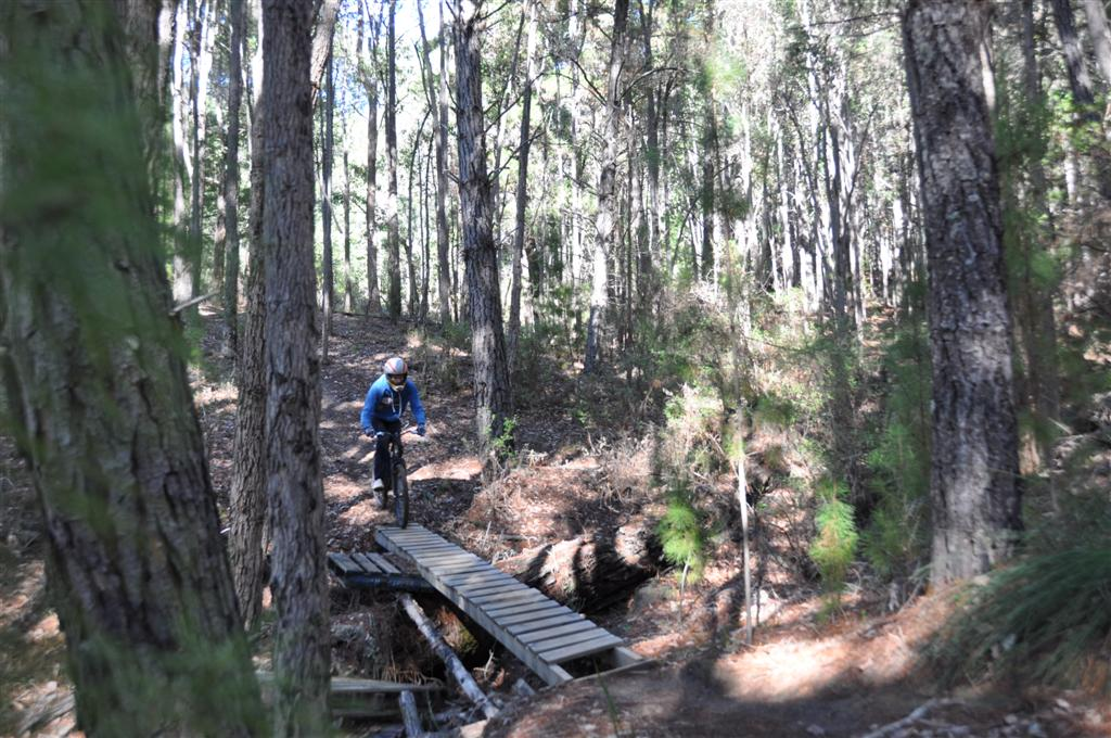 Bridge Crossing on Dwellingup Downhill Tracks