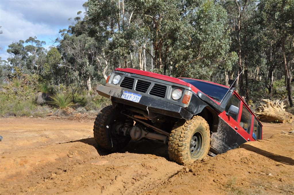 Coming Out of the Dirt at Mundaring