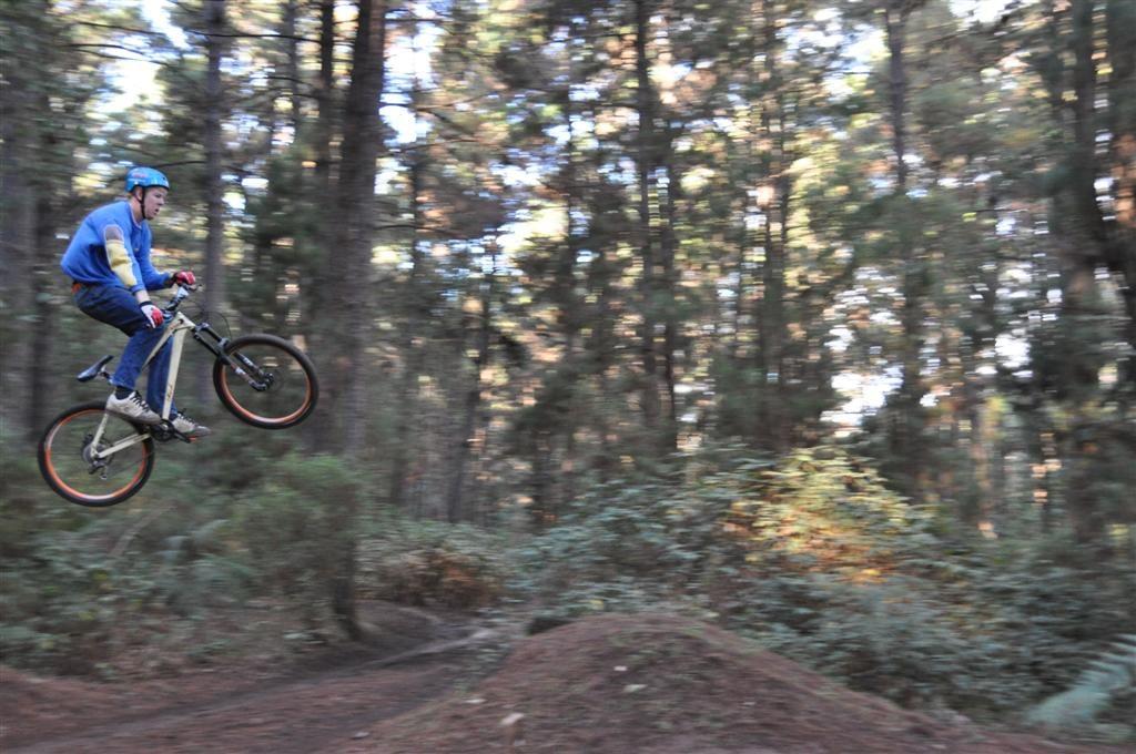 Downhill Jumps at Dwellingup