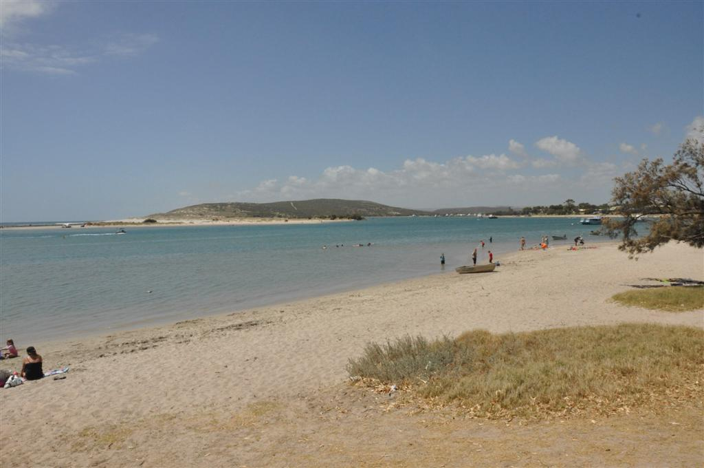Enjoying the Afternoon on the Beach at Murchison River