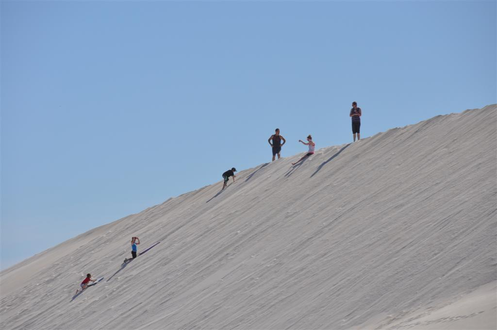 Everyone Having a Good Time in the Lancelin Sand Dunes
