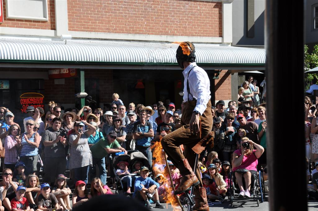 Fremantle Arts Festival Busker