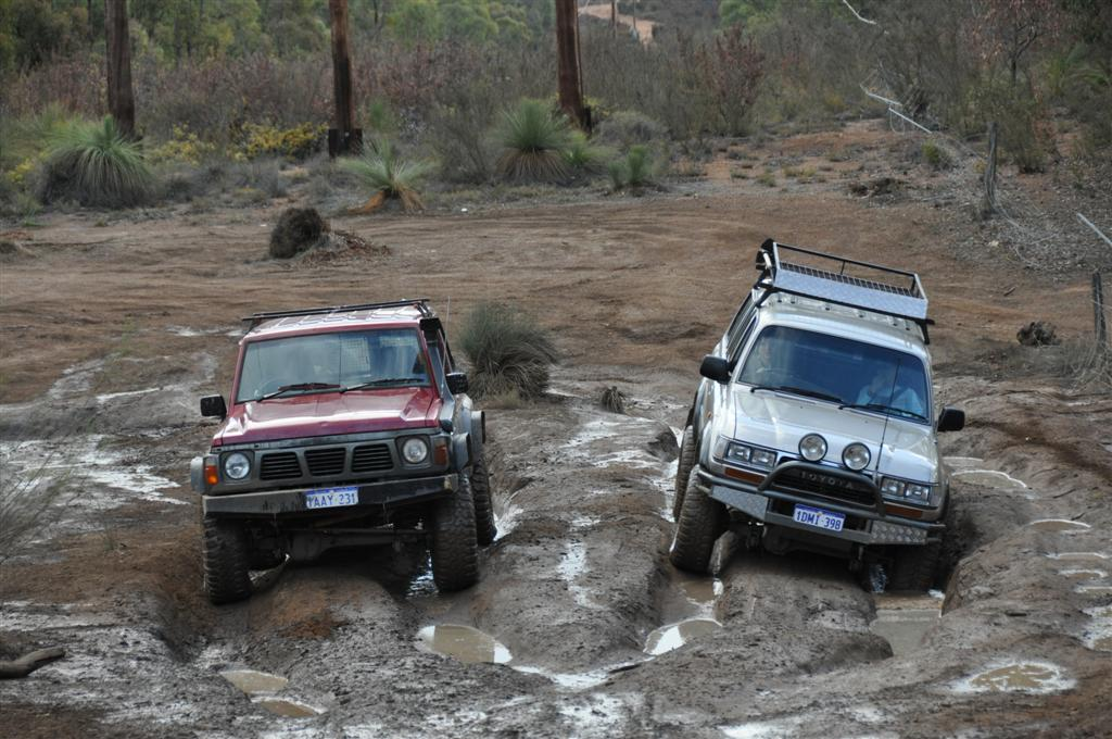 Gq Patrol vs 80 Series Land Cruiser