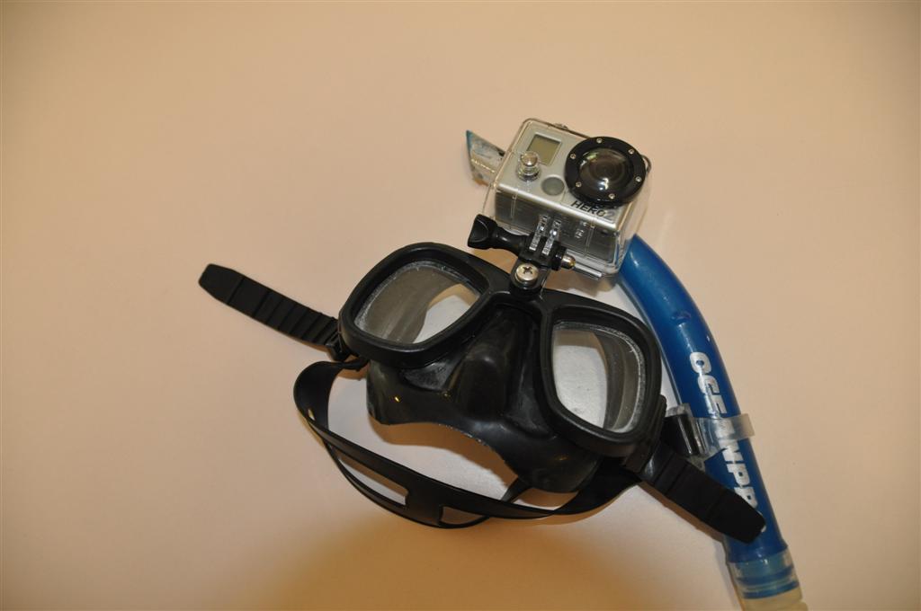 Go Pro Snorkel Mask Mount