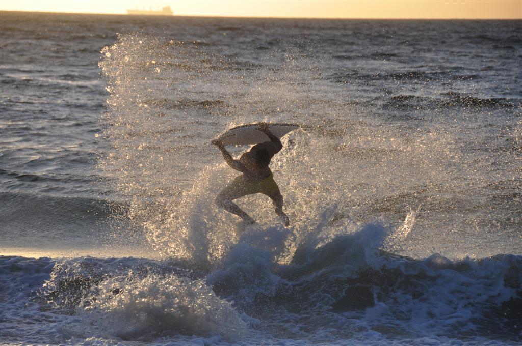 Having Fun at Cottesloe Beach