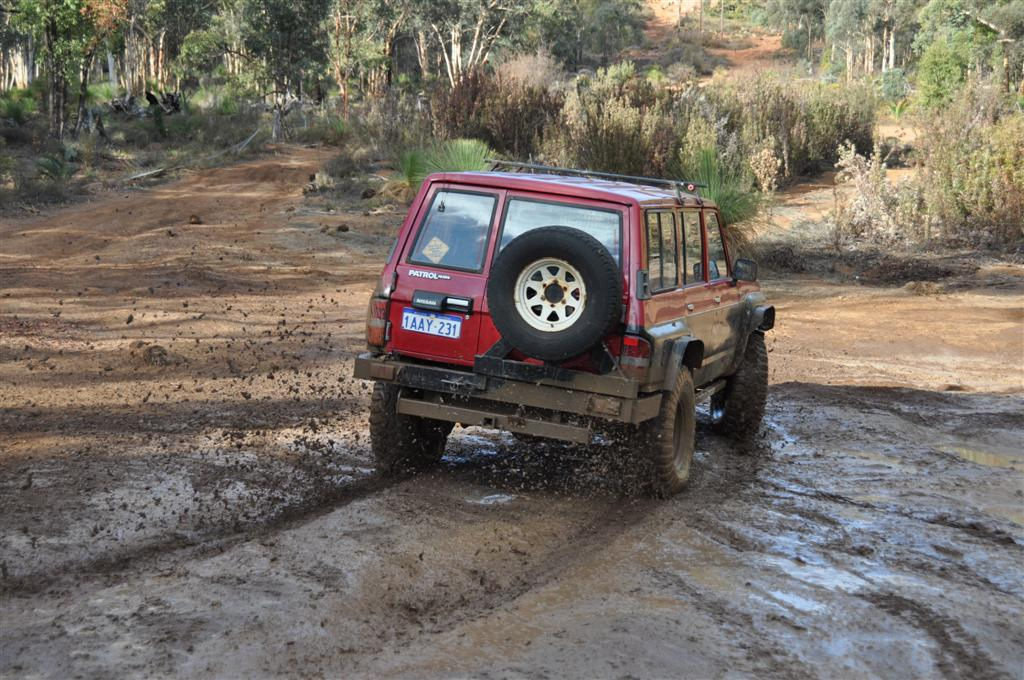 Having Fun in the Mud