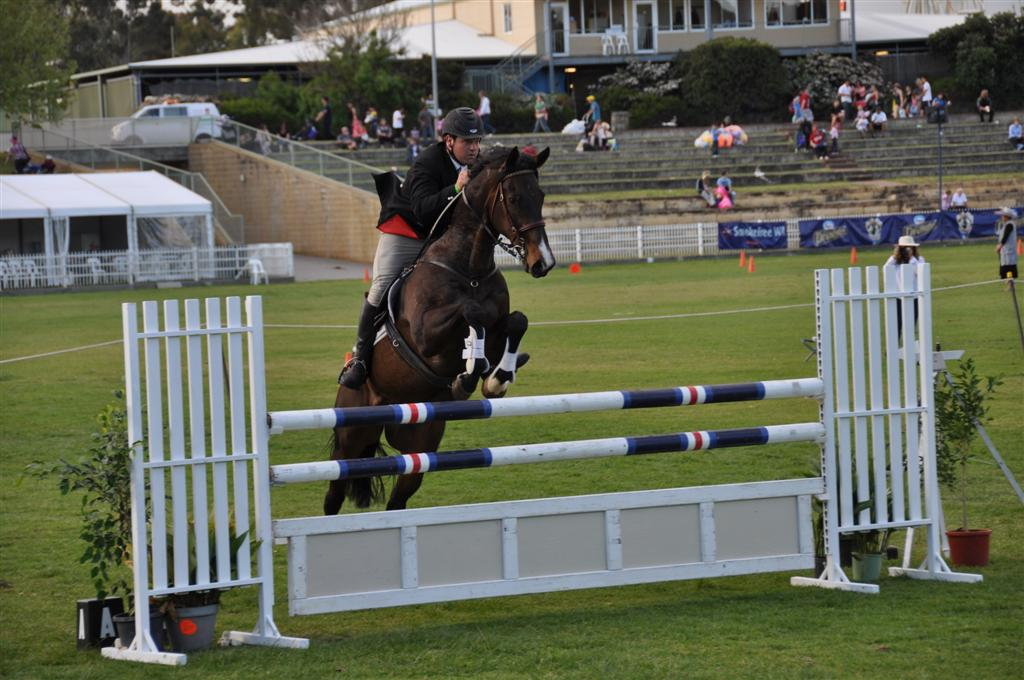 Horse Jumping at the Royal Show
