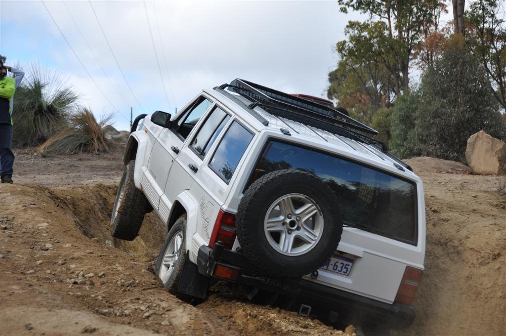 Jeeping at Mundaring