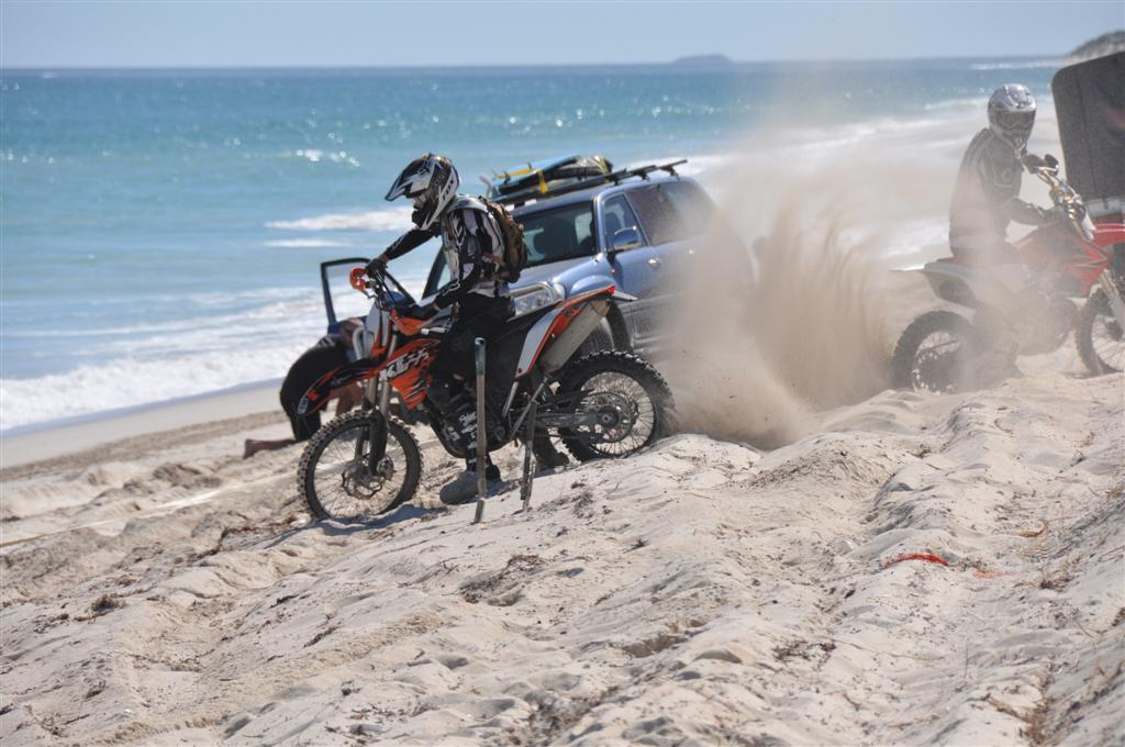 Motorbikes at Lancelin