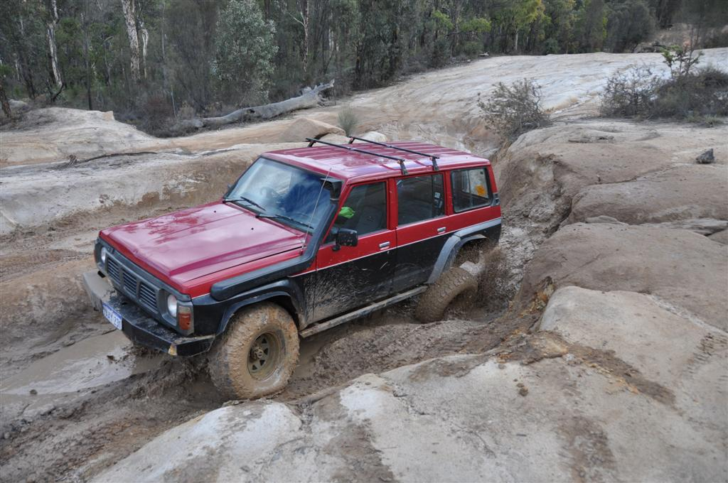 Mud Makes Traction Difficult to Come By