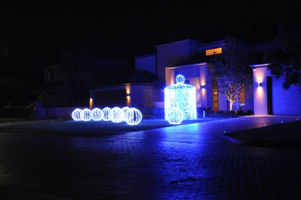 One of the 2011 Perth Christmas Lights Winners