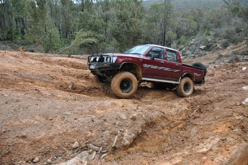 Playing at Mundaring on a Slippery Hill