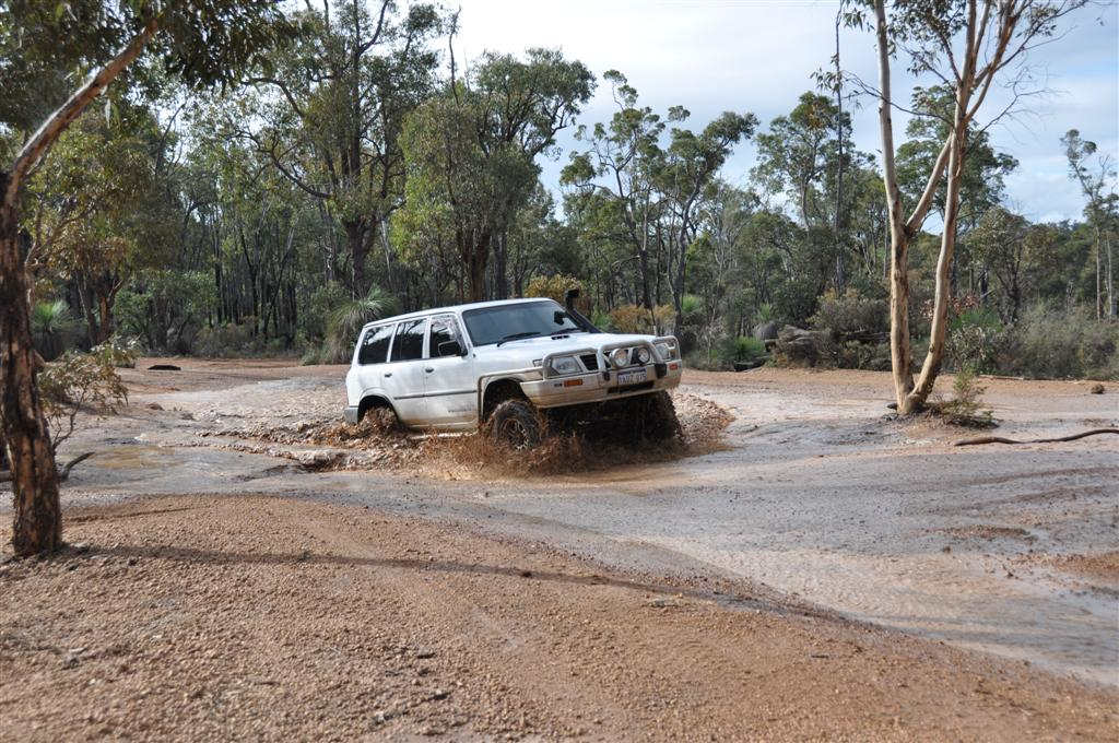 Playing in the Puddles at Mundaring