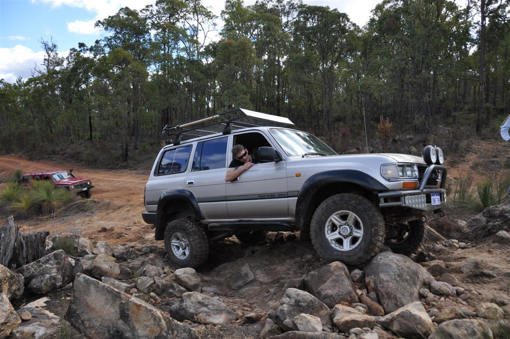Playing in the Rocks at Mundaring