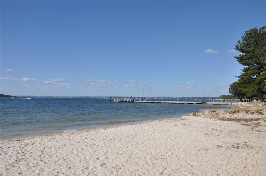 Point Walter Jetty from the spit