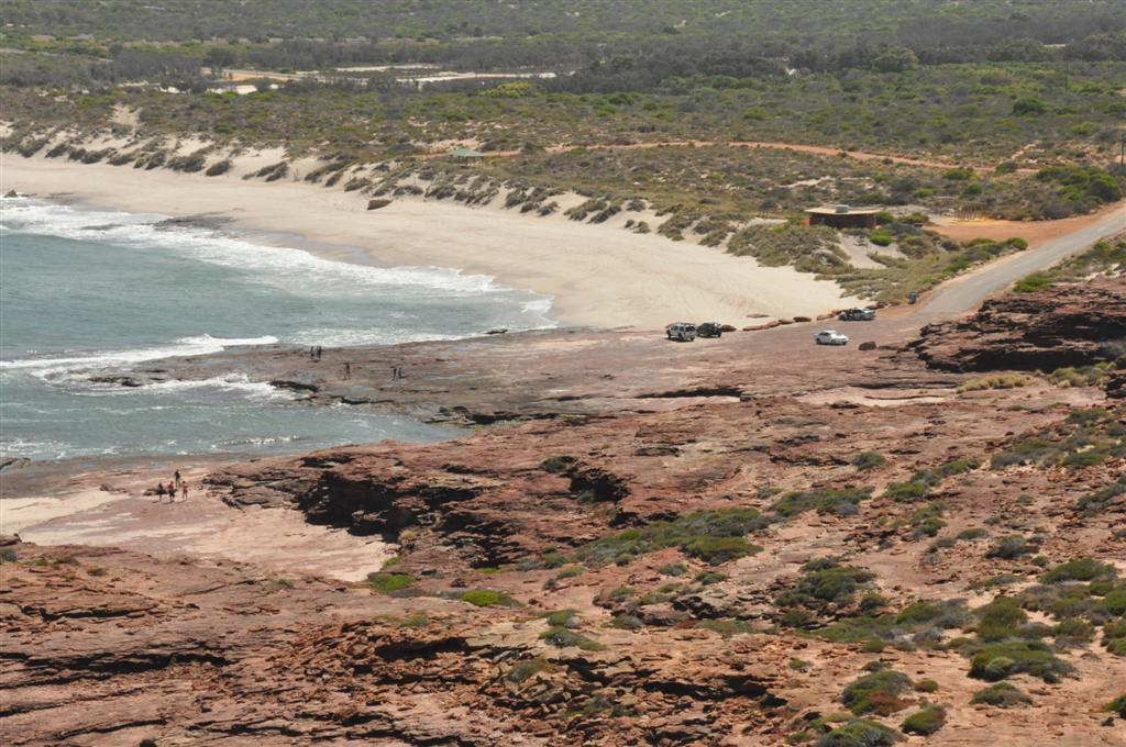 Red Bluff from the Lookout at Kalbarri