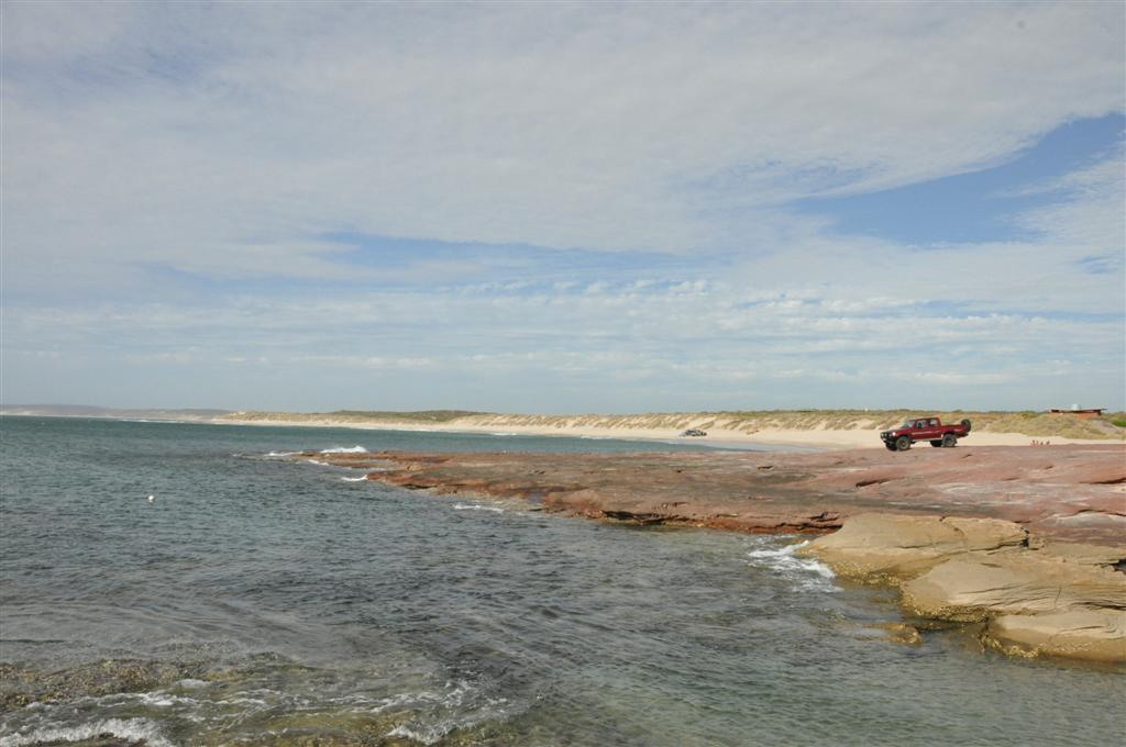 Red Bluff in Kalbarri