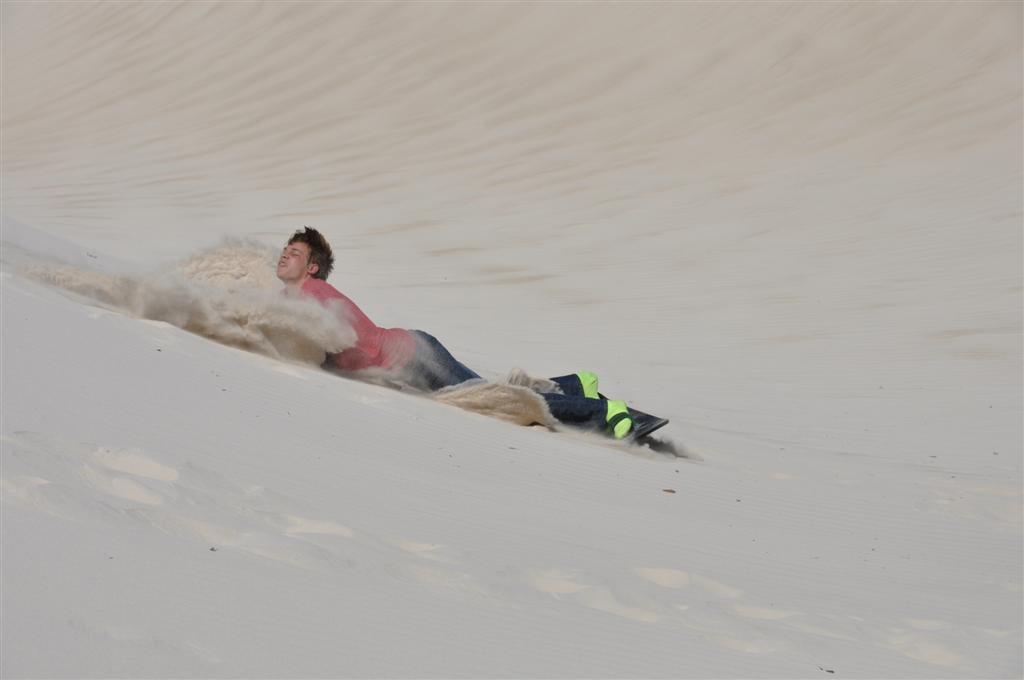 Sandboarding Bliss
