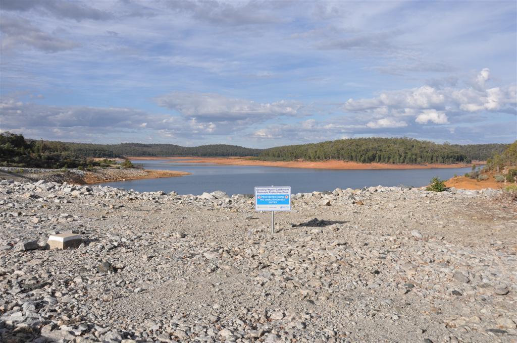 Serpentine Dam in Summer 2011