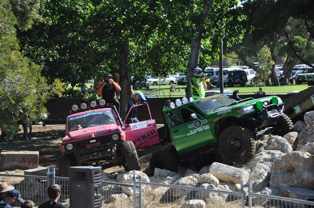 Some Extreme Four Wheel Drives at the Perth 4wd Show