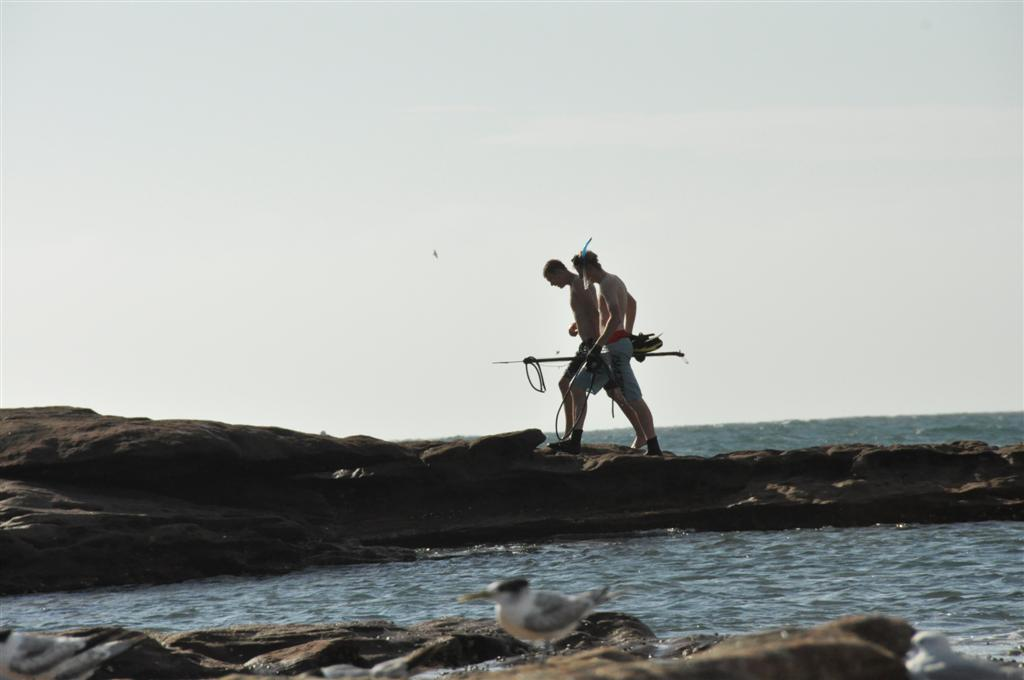 Spearfishing at Kalbarri