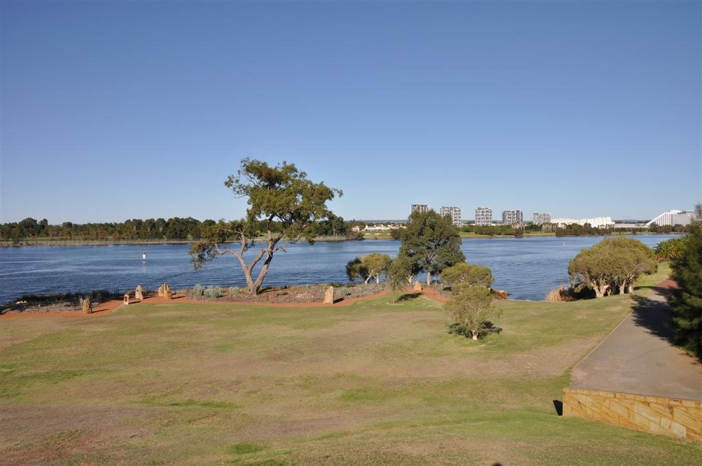 The Swan River in East Perth