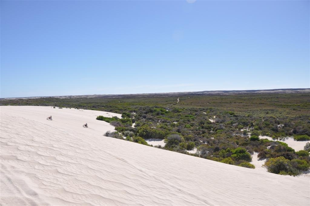 The End of Lancelin Sand Dunes