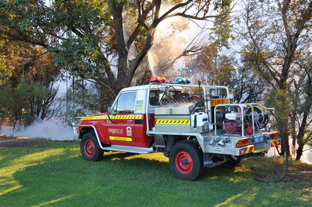 The Fire Brigade at a Local Fire