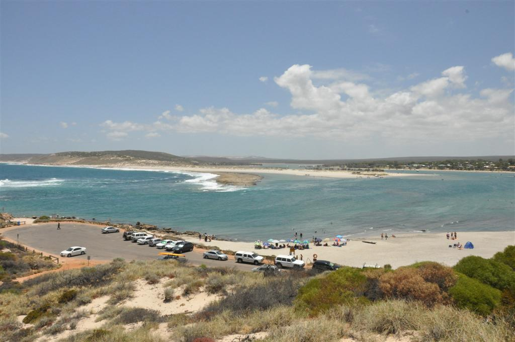 The Main Beach at Kalbarri