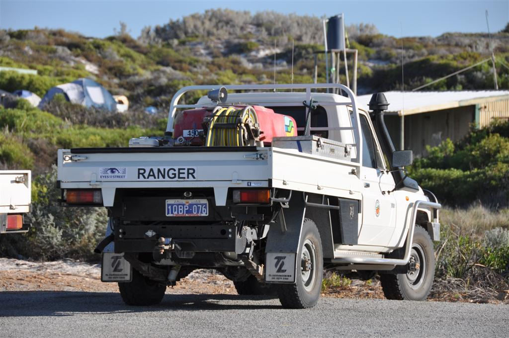 The Ranger at Wedge Island