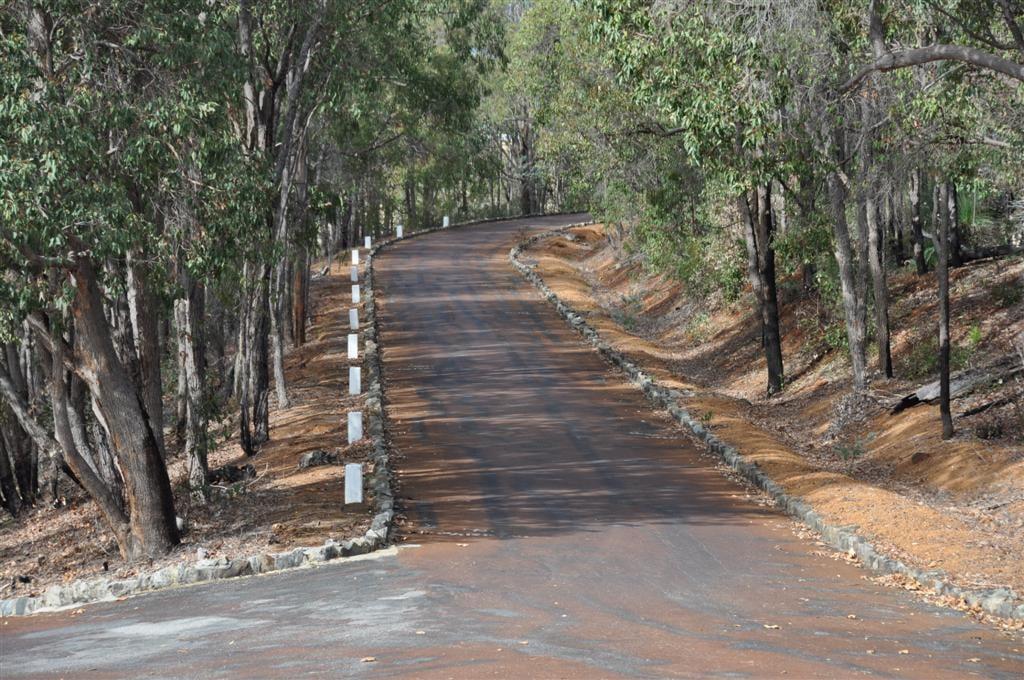 The Road Into Serpentine Dam Picnic Spot