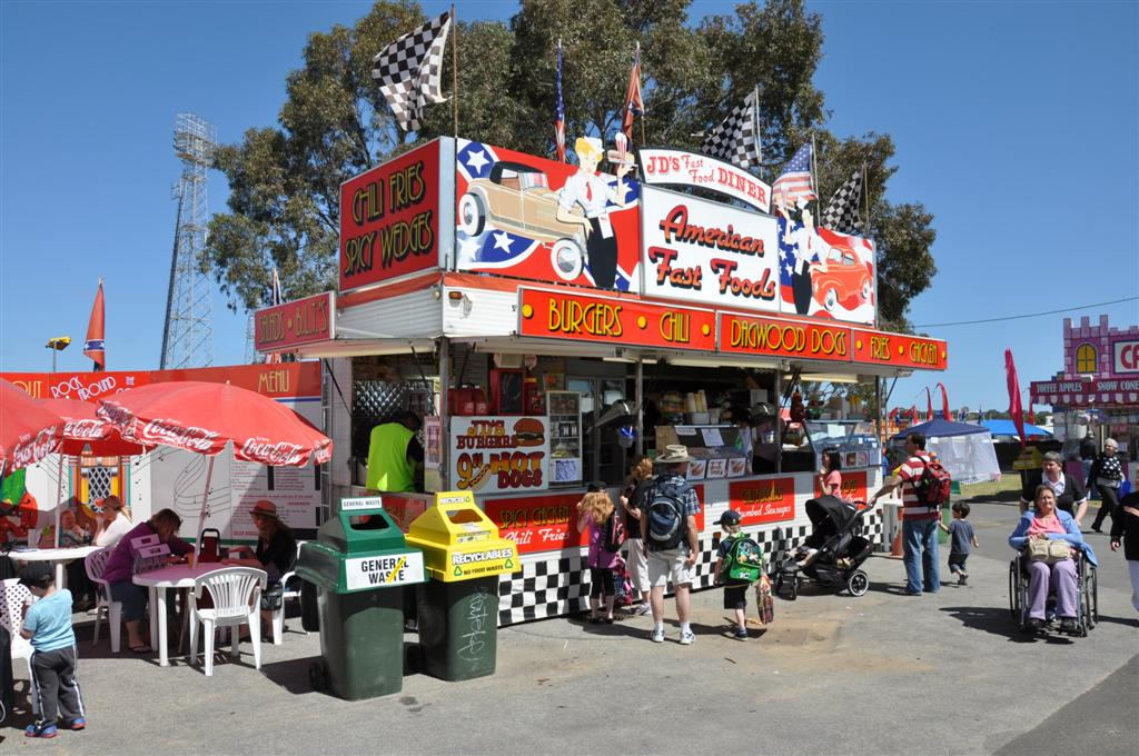 The Typical Royal Show Food Stand