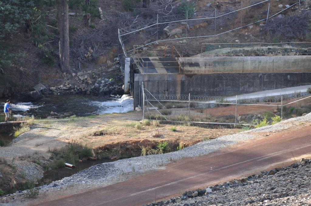 The Weir at Serpentine Dam
