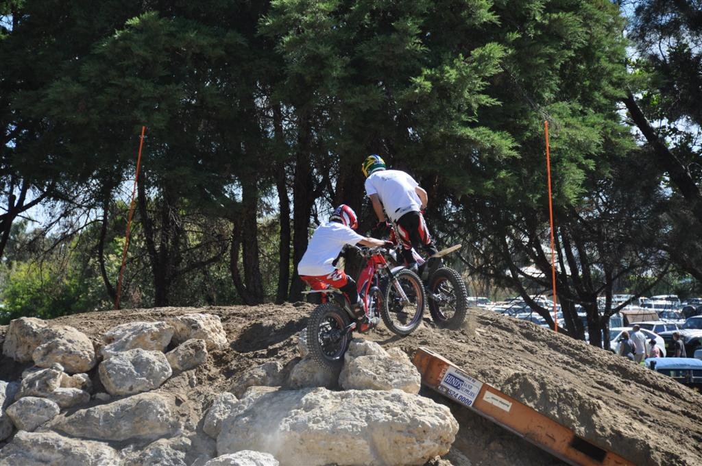Trial Bike Riding at the Perth 4wd Adventure Show