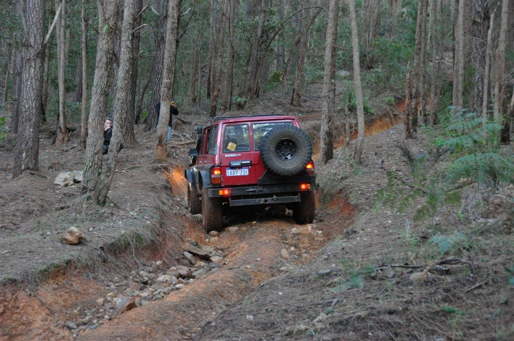 Trying the Harder Tracks at Dwellingup