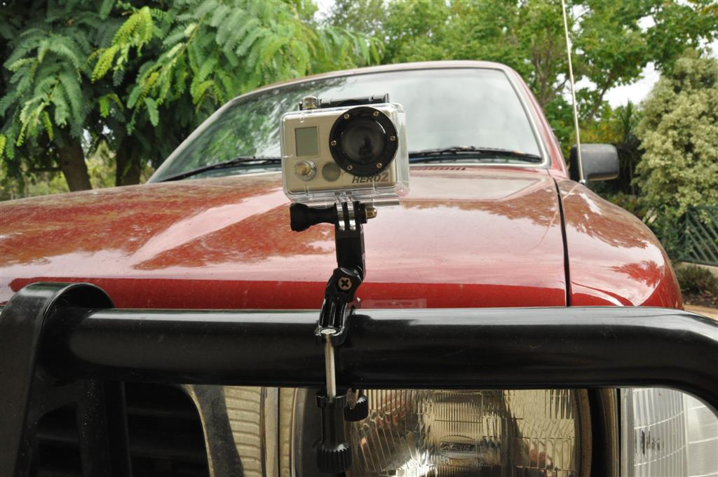 Using the go Pro Camera on the Bull Bar