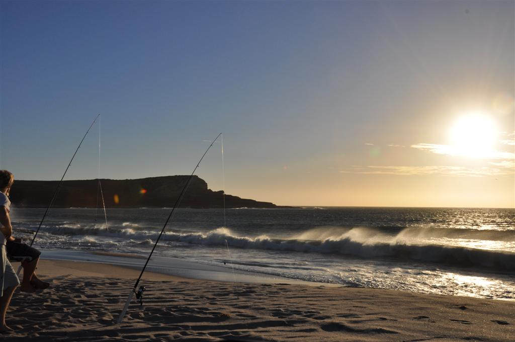 Wetting a Line at Kalbarri