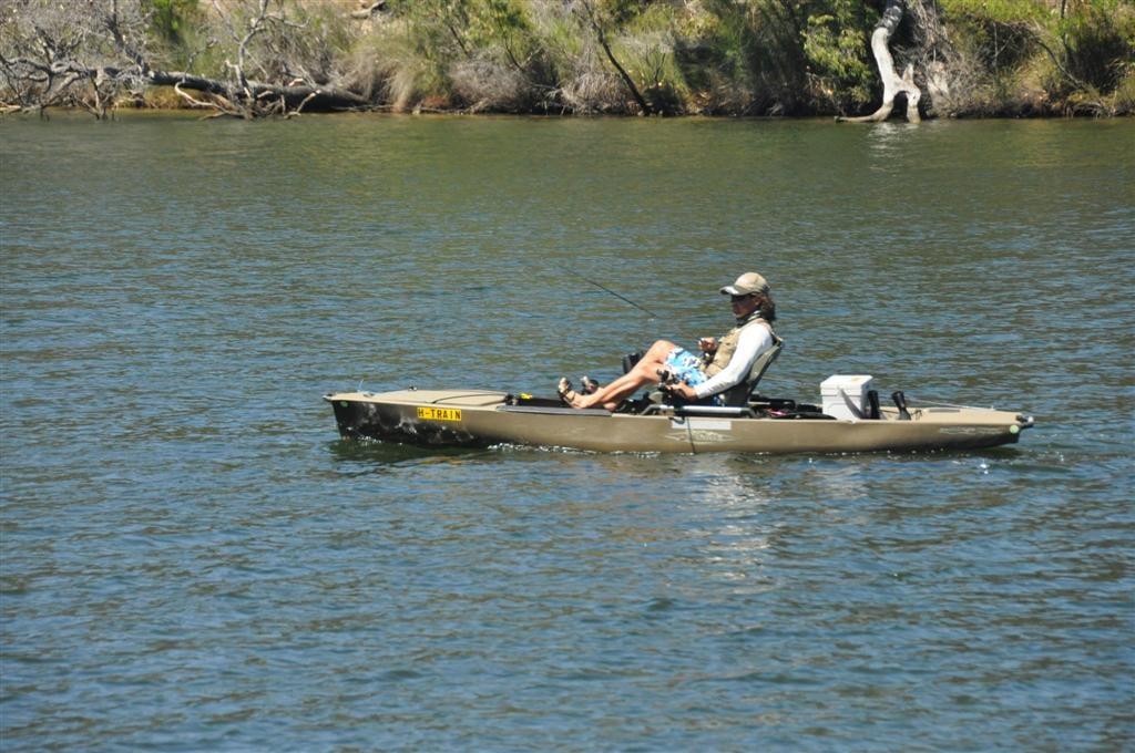 Kayaking Blackwood River