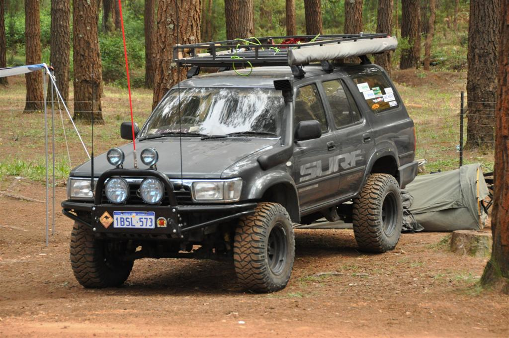 A well set up Hilux Surf