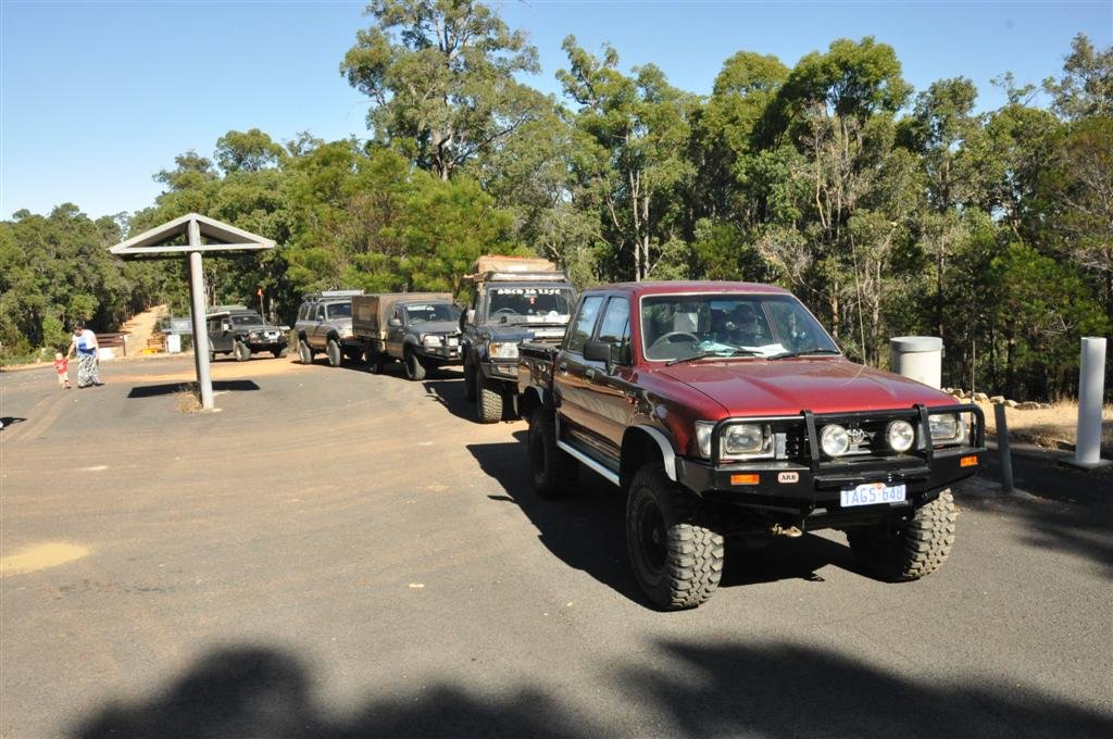 Setting off on a 4WD trip