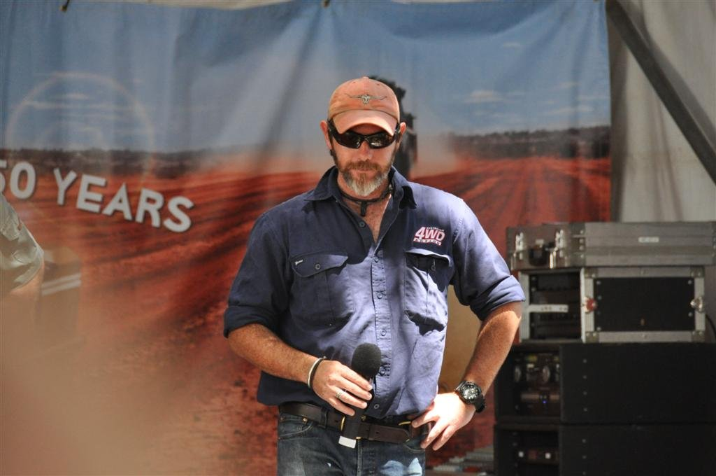 Graham Cahill at the Perth 4WD Show